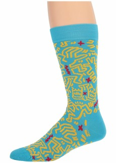 Happy Socks Keith Haring All Over Sock
