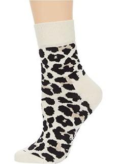 Happy Socks Leopard 1/2 Crew Sock