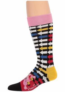 Happy Socks Pink Panther Jet Pink Sock
