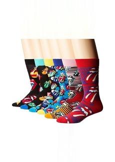 Happy Socks Rolling Stones 6-Pack Sock Box Set