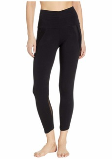 Hard Tail Crossover Waist Duo Pocket 7/8 Leggings