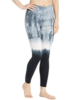 Hard Tail Flat Waist Lace Back Leggings