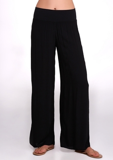 Hard Tail + Flowy Palazzo Woven Yoga Pants