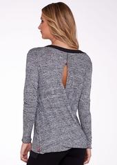 Hard Tail + Open Back Knit Sweatshirt