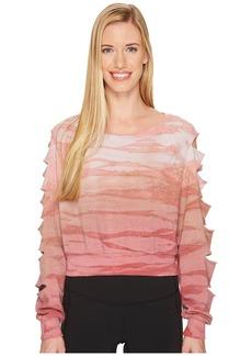 Hard Tail Distressed Crop Sweatshirt