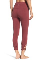 Hard Tail High Waist Crop Leggings