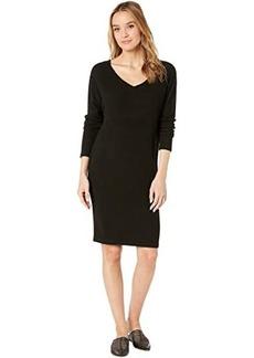 Hard Tail Long Sleeve V-Neck Dress
