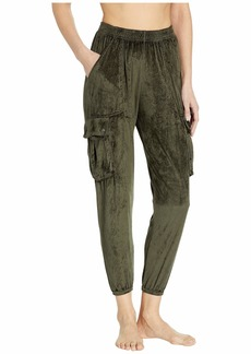 Hard Tail Lux Satin Pocket Paratrooper Pants