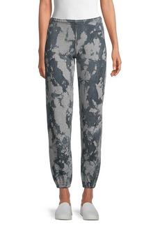 Hard Tail Printed Cotton-Blend Pants