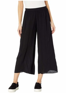 Hard Tail Pull-On Wide Racer Stripe Crop Pants