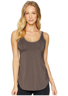 Hard Tail Side Stripe Low Back Tank