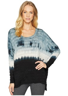 Hard Tail Slouchy Long Sleeve Scoop Tee