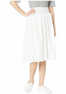 Hard Tail Smocked Waist Ballet Skirt