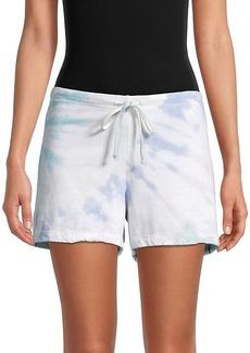 Hard Tail Tie-Dyed Drawstring Cotton Shorts
