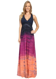 Hard Tail Twisty Back Maxi Dress