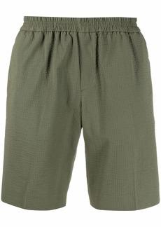 Harmony cotton seersucker shorts
