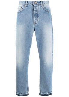Harmony cropped straight-leg jeans