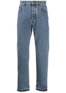 Harmony mid-rise straigh leg jeans