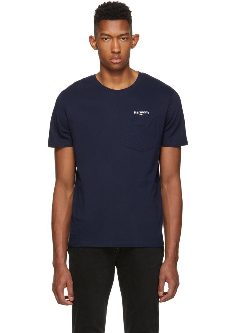 Harmony Navy 'USA' Teddy T-Shirt