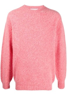 Harmony Shaggy crewneck wool jumper