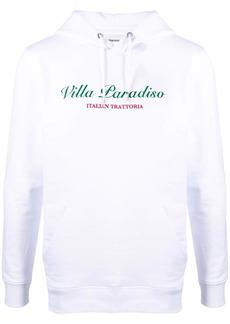 Harmony slogan-print pullover hoodie