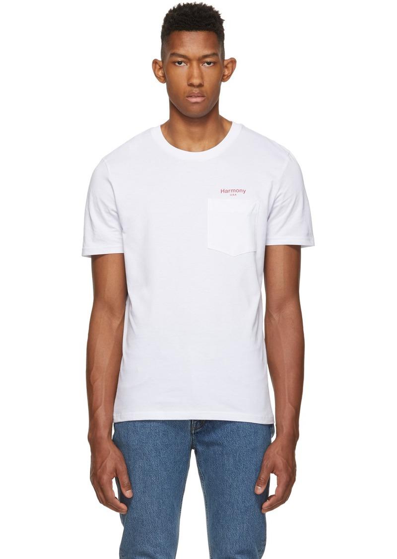 Harmony White 'USA' Teddy T-Shirt