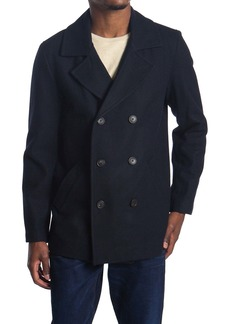 Hart Schaffner Marx Captain Double Breasted Peacoat