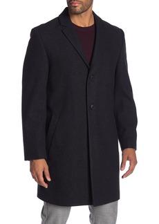 Hart Schaffner Marx Hanover Wool Blend Topcoat