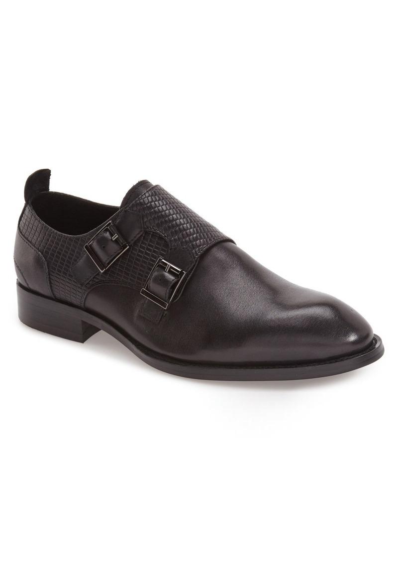 Hart Schaffner Marx 'Augusta' Double Monk Strap Shoe (Men)