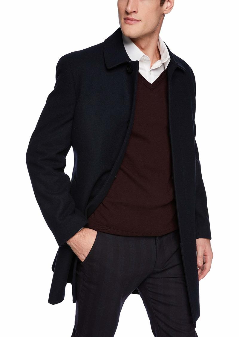 Hart Schaffner Marx Men's Wool Blend Coat  R