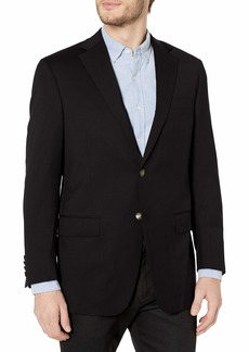 Hart Schaffner Marx Men's 2 Brass Button Chicago Fit Center Vent Blazer   Regular