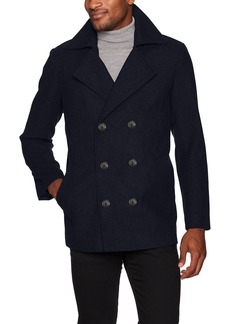 Hart Schaffner Marx Men's Captain Double Breasted Peacoat  XXL
