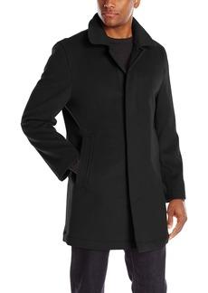 Hart Schaffner Marx Men's Douglas Cashmere Blend Top Coat   Regular