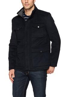 Hart Schaffner Marx Men's Horatio 4 Pocket Wool Jacket  L