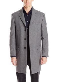 Hart Schaffner Marx Men's Maitland Slim-Fit Wool-Blend Coat   Regular
