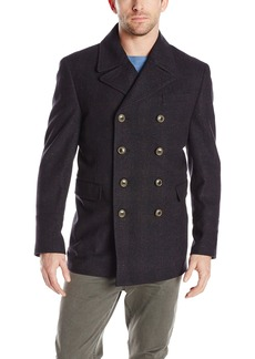 Hart Schaffner Marx Men's Pearson Contemporary Pea Coat