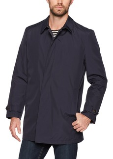 Hart Schaffner Marx Men's Rain-Down Coat with Zip-Out Down Liner  L