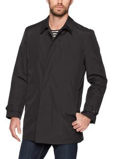 Hart Schaffner Marx Men's Rain-Down Coat with Zip-Out Down Liner  M