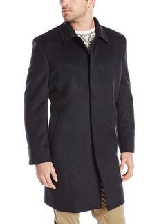 Hart Schaffner Marx Men's Sandhurst Cashmere Blend Top Coat
