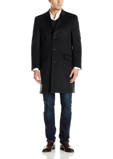 Hart Schaffner Marx Men's Shelby Cashmere Blend Top Coat