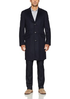 Hart Schaffner Marx Men's Shelby Cashmere-Blend Top Coat  R