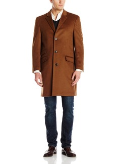 Hart Schaffner Marx Men's Shelby Cashmere Blend Top Coat   Regular