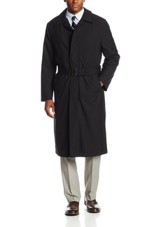 Hart Schaffner Marx Men's Simon Water Repellent Wool Coat   Regular