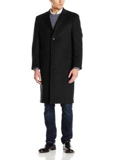 Hart Schaffner Marx Men's Spencer Cashmere Blend Top Coat