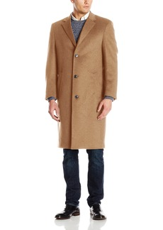 Hart Schaffner Marx Men's Spencer Cashmere-Blend Top Coat   Regular