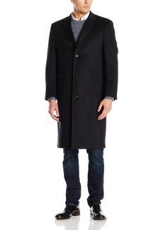 Hart Schaffner Marx Men's Spencer Cashmere Blend Top Coat   Regular