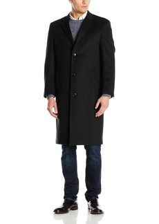 Hart Schaffner Marx Men's Spencer Cashmere Blend Top Coat   Regular