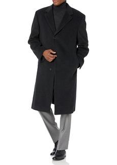 Hart Schaffner Marx Men's Stanley Cashmere-Blend Coat   Regular