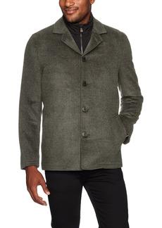 Hart Schaffner Marx Men's Triple Play 3-in-1 Wool Jacket with Vest  S