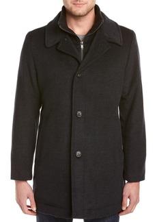 Hart Schaffner Marx Men's Wool Blend Coat
